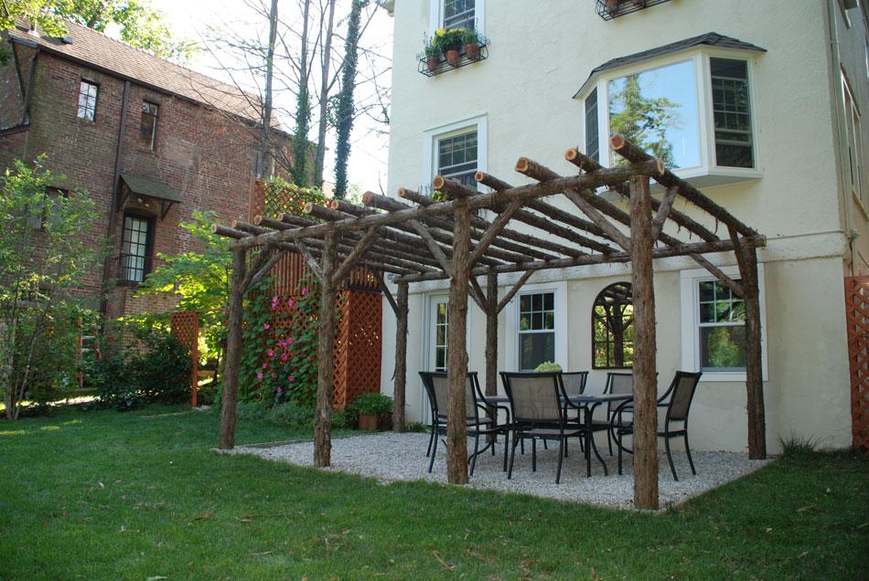 Rustic Arbors Pergolas Wedding Chuppahs Branch Trellises