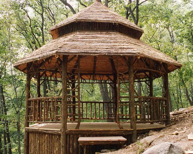 Rustic Gazebos Garden Pavilions Summerhouses Follies