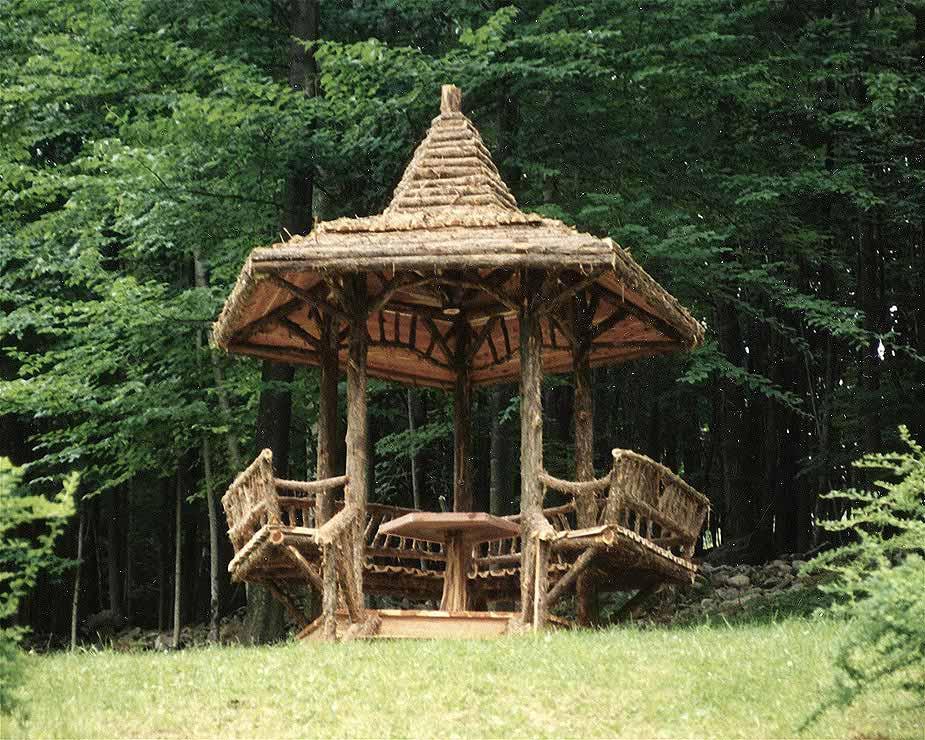 Santa Fe For Sale >> Rustic Gazebos | Garden Pavilions | Summerhouses | Follies - For Sale