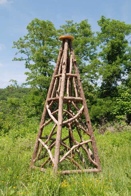 Newtown Garden Obelisk, Empty ...