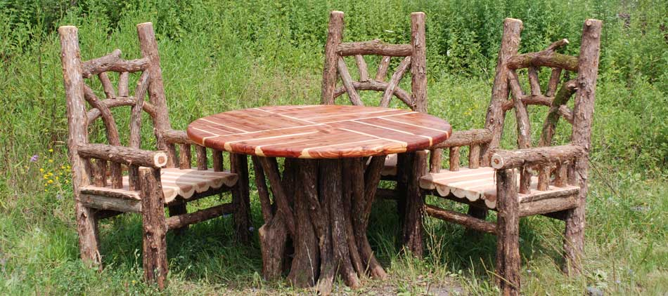 Outdoor Rustic Garden Furniture