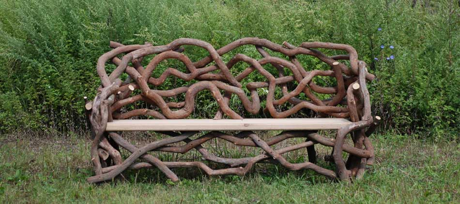 Built Outdoor Rustic Furniture And Woodland Garden Structures By Rob Davis